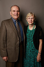 Photo of James Campbell Quick '68 and his wife, Sheri