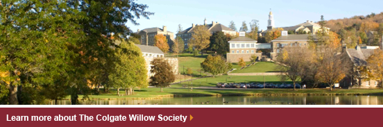 Learn more about The Colgate Willow Society